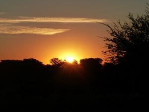 Sunset at Rooiputs
